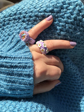 Load image into Gallery viewer, Daisy Ring - Lavender