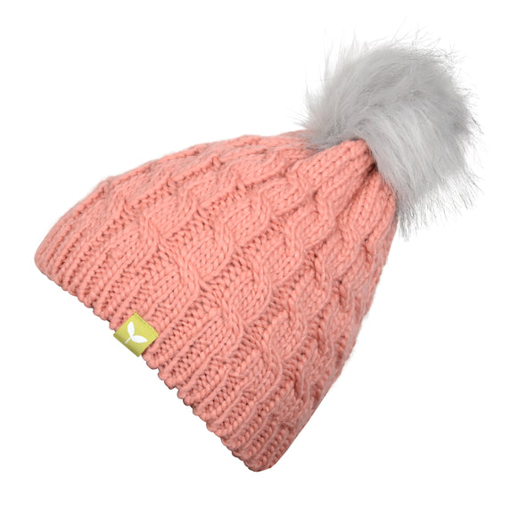 Kids Fleece Lined Snow Bunny Beanie