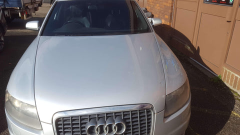 AUDI A6 C6 COMPLETE BONNET IN SILVER LY7W - RM PARTS