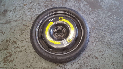 VW GOLF MK5 18'' SPARE WHEEL 1K0601027B - RM PARTS