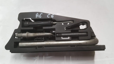 AUDI A6 C6 COMPARTMENT EMERGENCY TOOL KIT 4F5012111A - RM PARTS