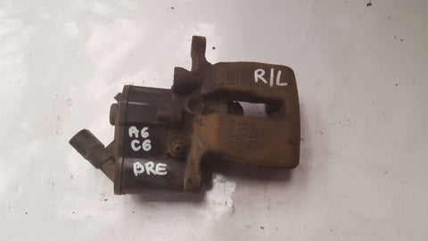 AUDI A6 C6  REAR LEFT BRAKE CALIPER 0867/C - RM PARTS