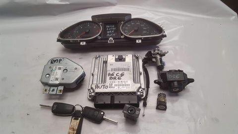 AUI A6 C6 AUTOMATIC ENGINE ECU SET 03G906016GC - RM PARTS