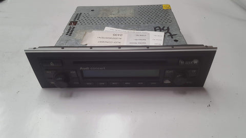 AUDI A4 B7 CONCERT RADIO CD PLAYER 8E0057186DX WITH CODE