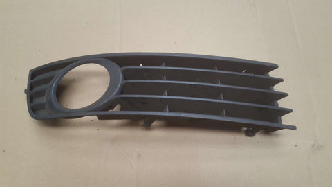 AUDI A4 B6 FRONT BUMPER RIGHT SIDE LOWER GRILL 8E0807682A