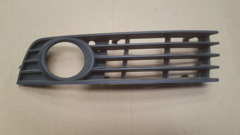 AUDI A4 B6 FRONT BUMPER LEFT SIDE LOWER GRILL 8E0807681