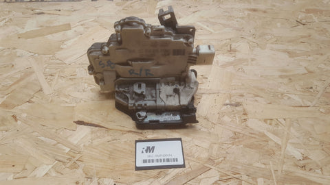 SKODA SUPERB 3T REAR RIGHT DOOR LOCK MECHANISM 3C4839016A