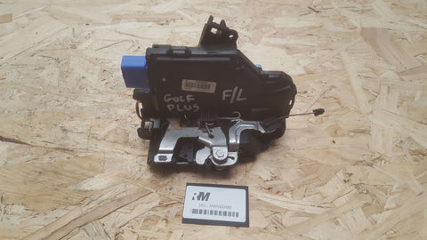 VW GOLF PLUS FRONT LEFT SIDE DOOR LOCK MECHANISM 3D2837015