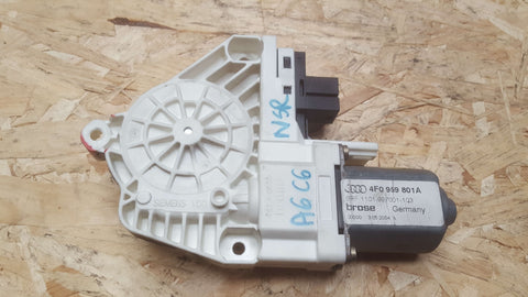 AUDI A6 C6 REAR LEFT SIDE DOOR WINDOW MOTOR 4F0959801A