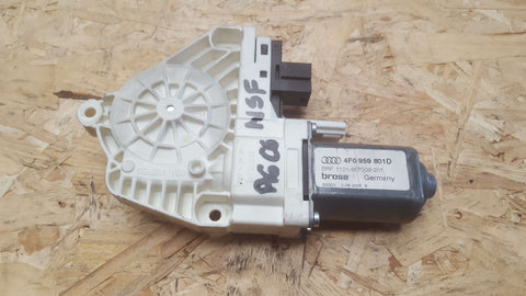 AUDI A6 C6 FRONT LEFT SIDE DOOR WINDOW MOTOR 4F0959801D