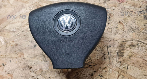 VW GOLF MK5 FRONT DRIVER SIDE SRS AIRBAG 1K0880201B