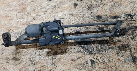 VW GOLF MK5 FRONT WIPER MOTOR & LINKAGE 1K2955119A