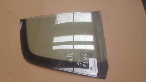 VW GOLF PLUS REAR RIGHT QUARTER WINDOW GLASS 43R-00048