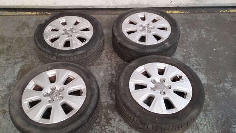 "AUDI A3 8P 16"" ALLOY WHEEL SET 8P0601025BJ"