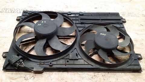 AUDI A3 8P ENGINE TWIN RADIATOR FANS 1K0121207AA