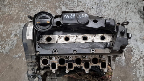 AUDI A3 8P BARE ENGINE CBA
