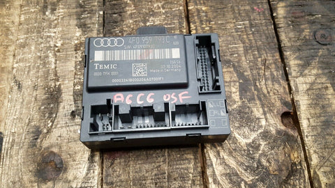 AUDI A6 C6 FRONT RIGHT SIDE DOOR CONTROL MODULE 4F0959793C