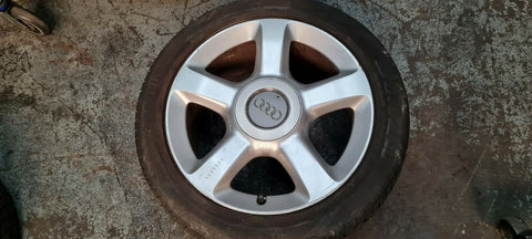 AUDI A6 C5 17'' ALLOY WHEEL SET 0F5 4B0601025AB & TYRES 235/45/17