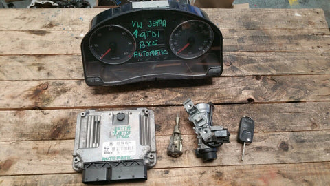 VW JETTA MK3 ENGINE CONTROL UNIT ECU SET 03G906021KH