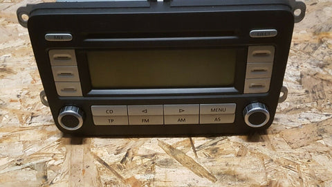 VW PASSAT B6 3C RADIO CD PLAYER  RCD 300 1K0035186T WITHOUT CODE