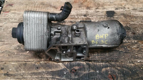 VW PASSAT B6 3C OIL FILTER HOUSING & COOLER 045115389E