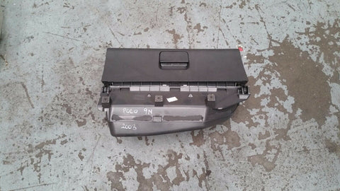 VW POLO 9N GLOVE BOX IN GREY 6Q2857101D
