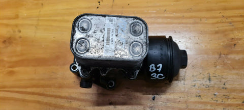 VW PASSAT B7 1.6 TDI OIL FILTER HOUSING & COOLER 03L115389C 03L117021C