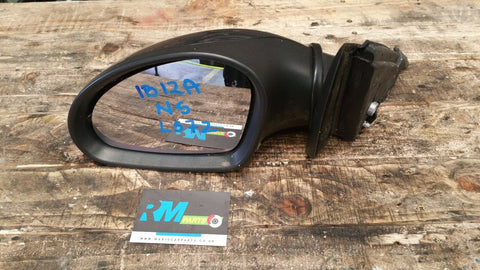 SEAT IBIZA 6L MK4 FRONT LEFT SIDE ELECTRIC WING MIRROR LS7Z