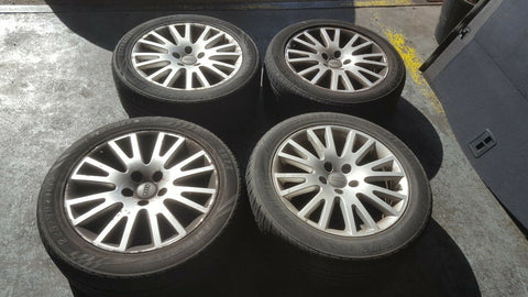 "AUDI A4 B7 17"" ALLOY WHEELS SET 4F0601025AK"