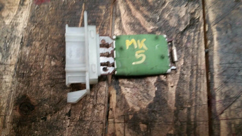 VW GOLF MK5 HEATER BLOWER RESISTOR