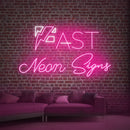 Custom Wall Neon Light Signs for Room