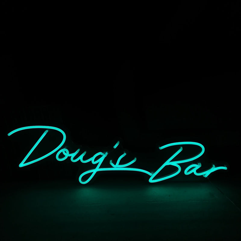 Doug's Bar Neon Signs