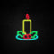 Candle Neon Sign
