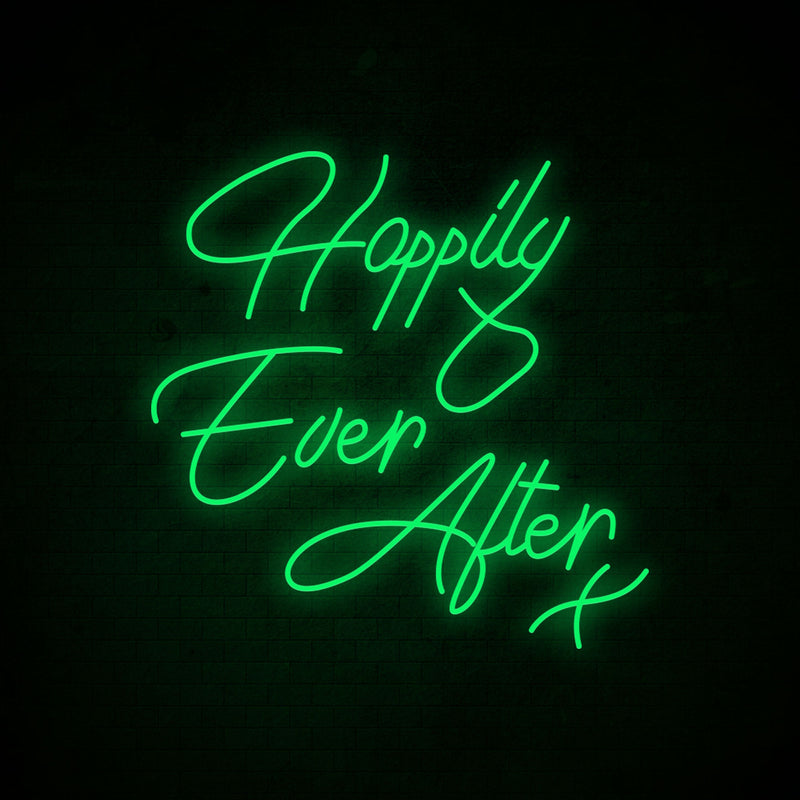 Happily Ever After Neon Signs 1