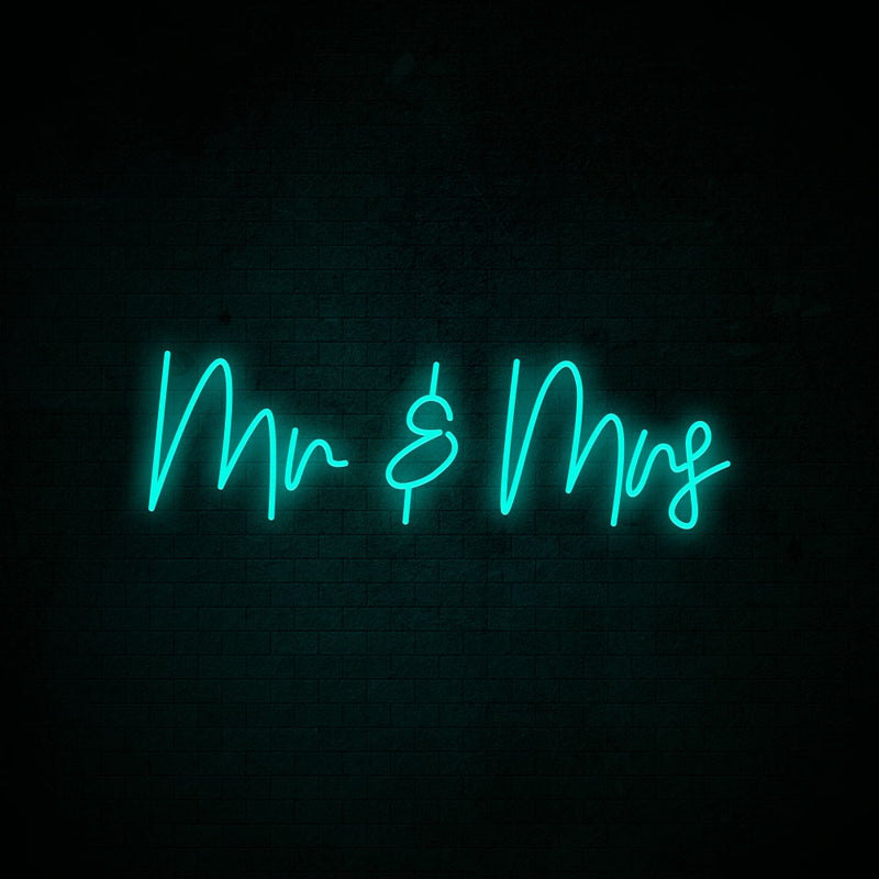 Mr & Mrs Neon Signs