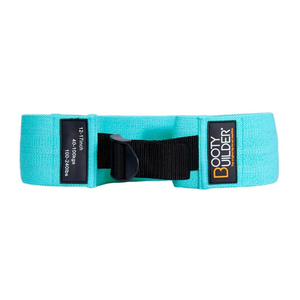 Booty Builder Adjustable Loop Band – Turquoise - Booty Builder Shop