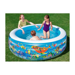 Piscine Gonflable 3 Boudins Diam 1.96m x H53cm
