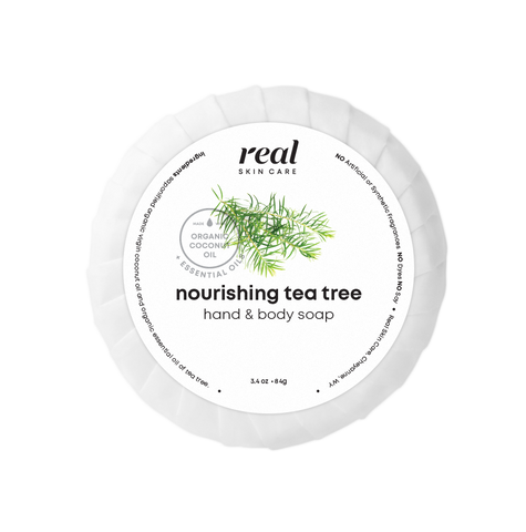 Nourishing Tea Tree Coconut Oil Soap Bar