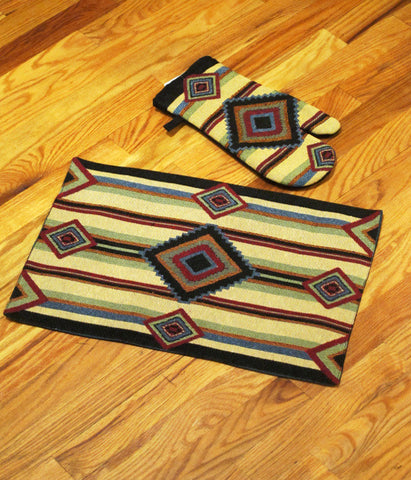 "Placemat/Oven Mitt - ""Chief Blanket"""