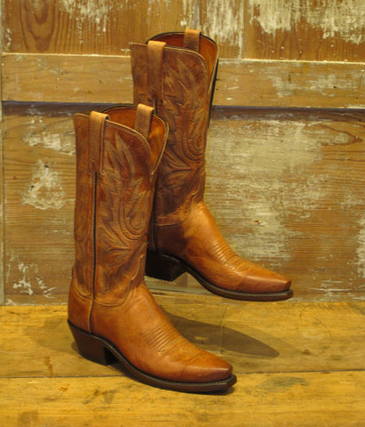 Women's Tan Mad Dog Boot by Lucchese