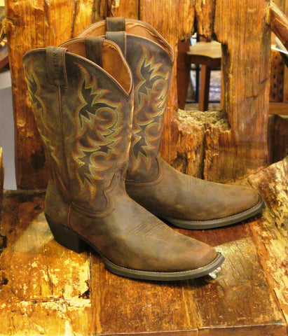 Men's Sorrel Apache Boot By Justin