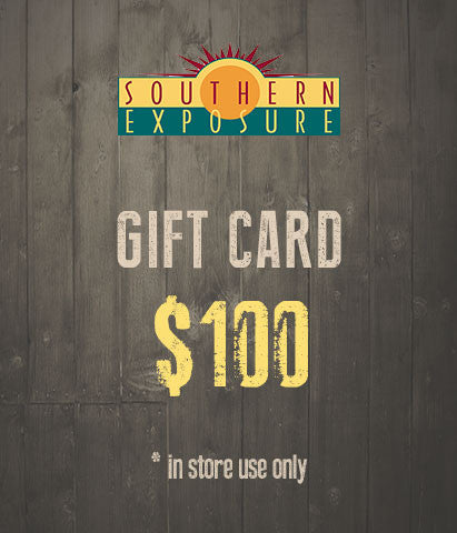 Southern Exposure $100 Gift Card