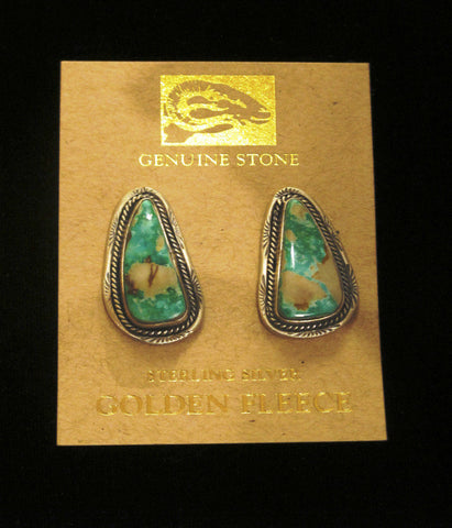 Turquoise Earrings by Martha Wiletto