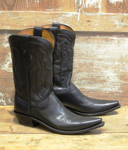 Women's Black Ranch Boot By Lucchese