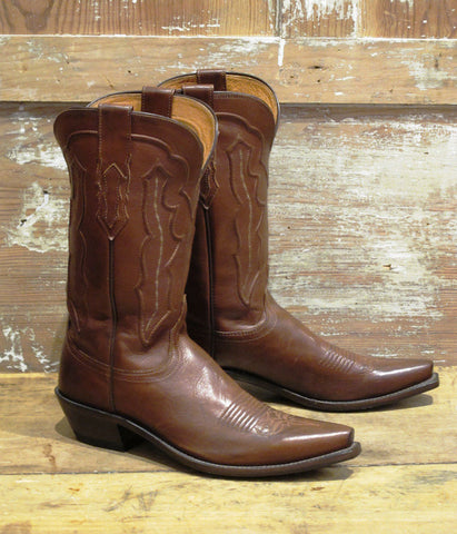 Women's Tan Ranch Boot By Lucchese