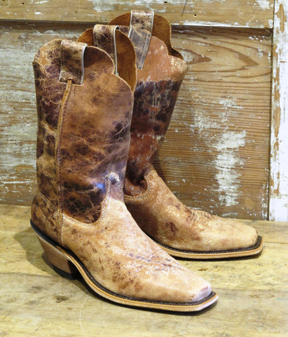 Women's Tan Road Boot by Justin
