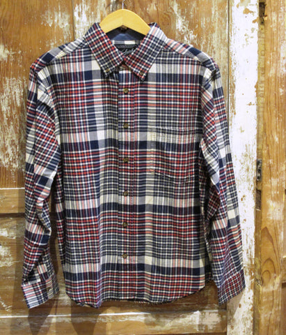 Men's Plaid Cotton Shirt by Woolrich