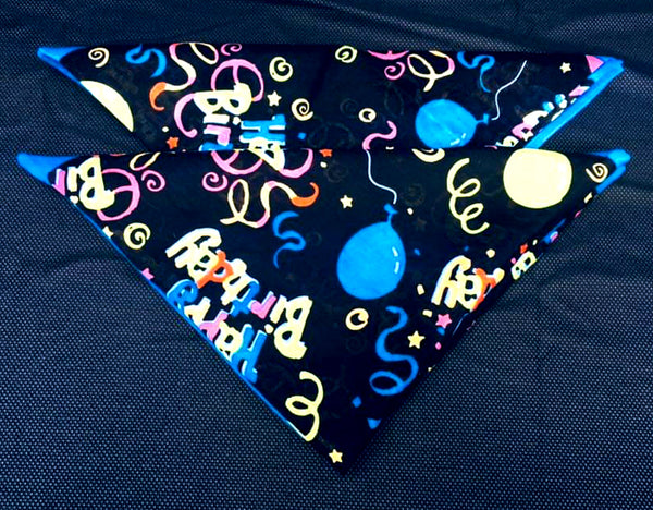 Birthday Bandana Set