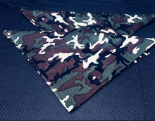 Load image into Gallery viewer, Camouflage Bandana Set