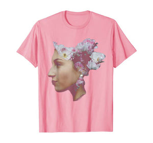 ethereal flower girl tshirt in pink
